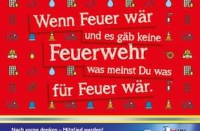 Landesfeuerwehrverband Schleswig-Holstein: FW-LFVSH: Freiwillige Feuerwehr beendet Talfahrt!