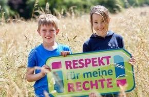 """Der Kinderkanal ARD/ZDF: Alles grün bei KiKA: """"Respekt für meine Rechte! - Umwelt schützen jetzt!"""" / KiKA-Themenschwerpunkt mit vielen Wissensformaten im September"""