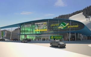 """""""Planet-Planai"""" neues Talstationszentrum in Schladming"""