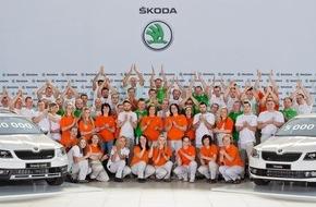Skoda Auto Deutschland GmbH: Meilenstein: einmillionster SKODA Octavia der dritten Generation produziert