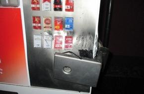 Automat aufgebrochen