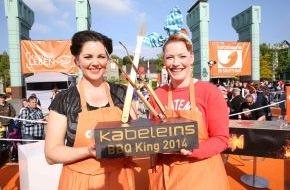 """kabel eins: Von wegen Männerdomäne! Der kabel eins-Titel """"BBQ-King 2014"""" geht an Enie van de Meiklokjes und Paula Lambert! / """"Abenteuer Leben""""-Spezial zum Showdown der Grillwoche am 8. Juni 2014, um 22.15 Uhr (FOTO)"""
