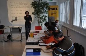 SBV Schweiz. Baumeisterverband: Société Suisse des Entrepreneurs: Les cours de langue sur le chantier sont un succès - Il est prévu de les étendre à d'autres parties du pays