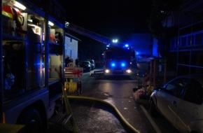Feuerwehr Attendorn: FW-OE: Brandeinsatz in Attendorn - 6 Personen durch Rauchmelder gewarnt
