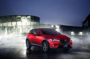 Mazda: Weltpremiere für den Mazda CX-3 in Los Angeles
