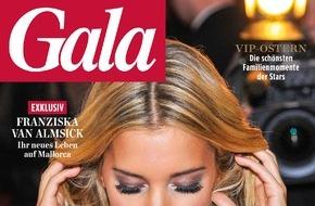 Gruner+Jahr, Gala: forsa-Umfrage für GALA: Deutschlands attraktivste Single-Männer sind David Garrett, Til Schweiger und Elyas M'Barek