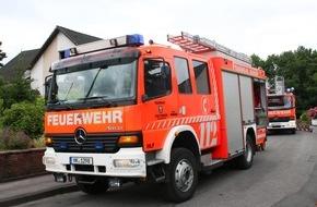 Freiwillige Feuerwehr Menden: FW Menden: Einsatzbericht der Feuerwehr Menden: Zimmerbrand im Lahrfeld