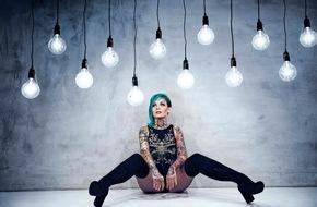 The Voice of Germany: Tattoo-Girl Jazzy - vor acht Jahren war sie noch nackt (FOTO)