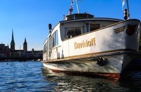 Oettinger Davidoff AG: Davidoff-Schiff: Die Genussoase kehrt nach der Winterpause auf den Zürichsee zurück