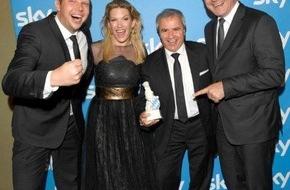 """Sky Deutschland: 28. Bayerischer Fernsehpreis: Sky Bundesliga Konferenz mit """"Blauem Panther"""" geehrt"""