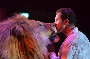 """Aktionsbündnis """"Tiere gehören zum Circus"""": Aktionsbündnis fordert ARD auf, Zirkusfestival von Monte Carlo bei der Ausstrahlung nicht zu verfälschen"""