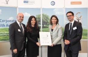 Santander Consumer Bank AG: Santander für vorbildliches Gesundheitsmanagement ausgezeichnet (FOTO)