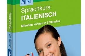 PONS GmbH: Neu von PONS: Auf Italienisch mitreden können in fünf Stunden - mit dem Mini-Sprachkurs von PONS - inklusive App fürs Vokabeltraining