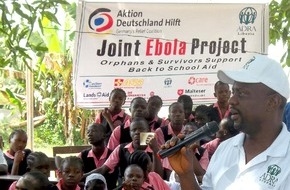 """Aktion Deutschland Hilft e.V: Ebola: """"Es ist noch zu früh, um Entwarnung zu geben"""" / Bündnismitglieder von Aktion Deutschland Hilft setzen Gemeinschaftsprojekt in Liberia um"""