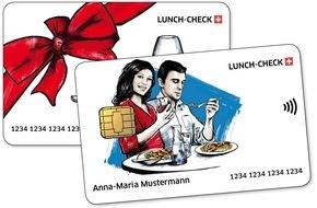 Schweizer Lunch-Check: Lunch-Check Suisse lance la solution par carte dotée de la fonction sans contact la plus moderne pour le paiement sans numéraire