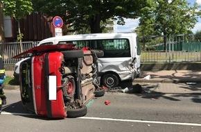 Unfall in Mainz