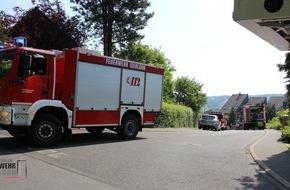 Feuerwehr Iserlohn: FW-MK: Kaminbrand und Türöffnung