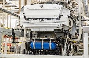 Skoda Auto Deutschland GmbH: Produktionsstart für neuen SKODA Octavia G-TEC