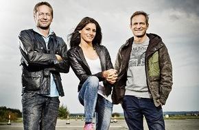"""RTL II: """"GRIP - Das Motormagazin"""": Schrottchallenge mit Matthias Malmedie, Cyndie Allemann und Niki Schelle / Sendetermin: Sonntag, 11. Januar 2015, um 18:00 Uhr bei RTL II"""