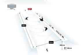 Medienstelle LAAX: Weltweit grösste Halfpipe entsteht in LAAX / Schweizer Skigebiet baut Freestyle-Kompetenz weiter aus