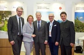 Oberösterreich Tourismus: Oberösterreich lädt auf der 50. ITB Berlin zum Perspektivenwechsel