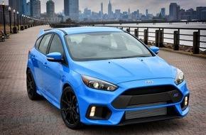 Ford-Werke GmbH: Neuer Ford Focus RS: 266 km/h Topspeed, in 4,7 Sekunden von 0 auf 100 km/h, Preis ab 39.000 Euro