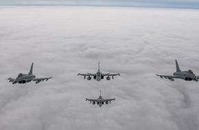 Presse- und Informationszentrum der Luftwaffe: Deutsche Luftwaffe beendet ihren Einsatz im Baltikum