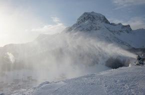 Lech-Zürs Tourismus GmbH: Skigebiet Lech Zürs am Arlberg: Ski-Saisonstart am 12. Dezember 2014!