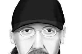 Polizeipräsidium Koblenz: POL-PPKO: Raubüberfall auf LIDL-Markt in Koblenz-Rauental  - Polizei veröffentlicht Phantombild