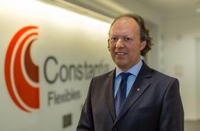 Constantia Flexibles: Alexander Baumgartner tritt sein Amt als Vorstandsvorsitzender von Constantia Flexibles an