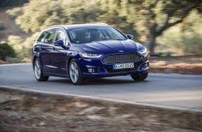 Ford-Werke GmbH: Euro NCAP-Crashtest: Fünf Sterne-Höchstbewertung für den neuen Ford Mondeo (FOTO)