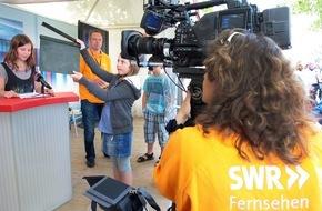 SWR - Südwestrundfunk: Der SWR feiert den Sommer / Abwechslungsreiches Programm vom 9. bis 12. Juli 2015 beim SWR Sommerfestival rund um das Mainzer Funkhaus und in der Stadt