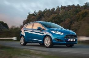 Ford-Werke GmbH: Ford Auto-Versicherung für private Fiesta-Neuwagenkunden: Jetzt 19,90 Euro monatlich in den ersten drei Jahren