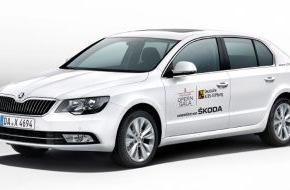 Skoda Auto Deutschland GmbH: Gäste kommen im SKODA zur Operngala für die Deutsche AIDS-Stiftung (FOTO)