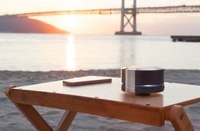 Panasonic Deutschland: Neuer Bluetooth Lautsprecher SC-RB5 von Panasonic mit Resonance Bass Technologie