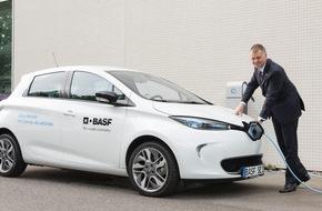 RWE Effizienz GmbH: Ein Ladepunkt pro Elektrofahrzeug - BASF baut Betriebsfahrzeugflotte und Ladeinfrastruktur aus