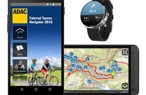 ADAC: Mit neuen Apps über Stock und Stein / ADAC Fahrrad Tourenplaner und Wanderführer jetzt für Android