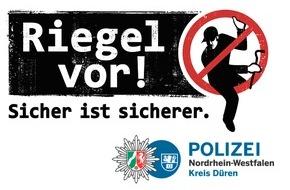Polizei Düren: POL-DN: Täter nutzen gekipptes Fenster zum Einbruch