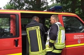 Feuerwehr Düsseldorf: FW-D: Hochwasser in Isselburg [Kreis Borken] Feuerwehr Düsseldorf unterstützt die Einsatzkräfte vor Ort