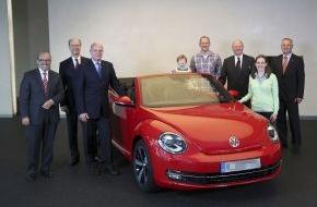 Autostadt GmbH: 2.000.000 Fahrzeugauslieferungen in der Autostadt in Wolfsburg
