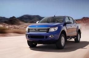 Ford-Werke GmbH: Jeder dritte neue Pick-up in Deutschland ein Ford Ranger: Ford Nutzfahrzeuge im ersten Halbjahr weiter auf Erfolgskurs