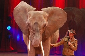 """Aktionsbündnis """"Tiere gehören zum Circus"""": Wildtierverbot für Zirkusse in Heilbronn entbehrt jeder Grundlage (FOTO)"""