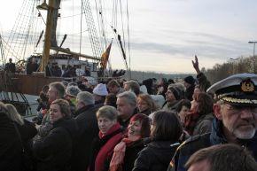 """Marine - Bilder der Woche: Einlaufen der """"Gorch Fock"""" in Kiel"""