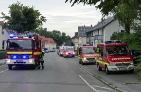 Feuerwehr Dortmund: FW-DO: Kellerbrand in einem Mehrfamilienhaus in Kley