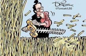 Bundesgeschäftsstelle Landesbausparkassen (LBS): Gras oder Hecke? / Manchmal müssen Juristen sogar die Natur neu definieren
