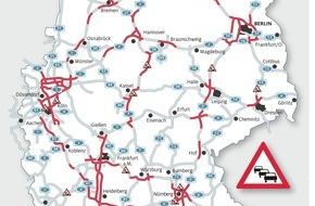 ADAC: Ab sofort rollt die Sommerreisewelle / ADAC-Stauprognose für das Wochenende 24. bis 26. Juni
