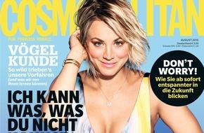 """Bauer Media Group, Cosmopolitan: Kaley Cuoco (30) in Cosmopolitan: """"Natürlich bin ich eine fucking Feministin!"""""""