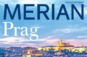 """Jahreszeiten Verlag, MERIAN: """"Prag - Die """"Goldene Stadt"""" glänzt mehr denn je"""" / Neu: MERIAN Prag erscheint am 29. Januar 2015"""
