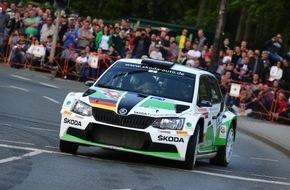 Skoda Auto Deutschland GmbH: Fabian Kreim/Frank Christian erkämpfen für SKODA den zweiten Saisonsieg in der DRM
