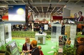 Fördergemeinschaft Nachhaltige Landwirtschaft: ErlebnisBauernhof der Grünen Woche begeistert Berlin / Dreiviertel der Messebesucher stellen dem ErlebnisBauernhof positives Zeugnis aus